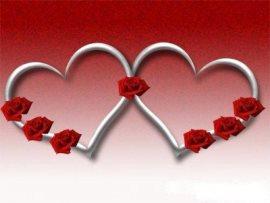 Мужу и жене с Днем Святого Валентина на мобильный